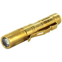 JETBeam TEA30 Limited Edition 24K Gold Plated Titanium LED Flashlight 1xAAA, 131 Max Lumens