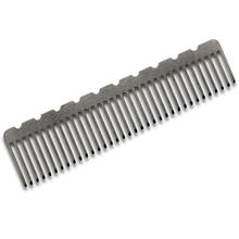 John Gray Large Notched Titanium Comb, 4.125 inch Overall