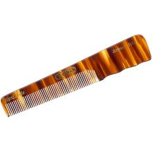 Kent Brushes R18T Handmade Fine Tooth Men's Pocket Comb