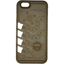 Klecker Stowaway Tool Carrier iPhone 7 Case, Mechanical, Brown