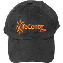 KnifeCenter.com Heavy Brushed Cotton Cap/Hat, Black