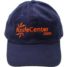KnifeCenter.com Heavy Brushed Cotton Cap/Hat, Blue