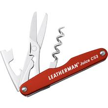 Leatherman 832369 Juice CS3 Pocket-Size Multi-Tool, Cinnabar Orange