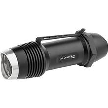 LED Lenser 880122 F1 Pocket-Size LED Flashlight, 400 Max Lumens, Black