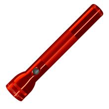 Maglite 3 D Cell LED Flashlight - Red Body