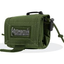 Maxpedition 0208G Rollypoly Folding Dump Pouch, OD Green