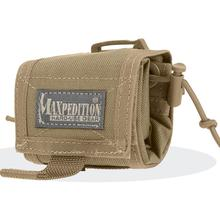 Maxpedition 0208K Rollypoly Folding Dump Pouch, Khaki