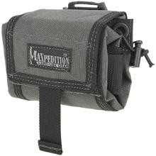 Maxpedition 0209W Mega Rollypoly Folding Dump Pouch, Wolf Gray