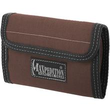 Maxpedition 0229BR Spartan Wallet, Dark Brown