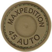 Maxpedition 45ACC PVC Max 45 Auto Patch, Brown