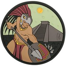 Maxpedition AZTCC PVC Aztec Warrior Patch, Color