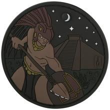 Maxpedition AZTCZ PVC Aztec Warrior Patch, Glow
