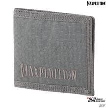 Maxpedition BFWGRY AGR Advanced Gear Research BFW Bi-Fold Wallet, Gray