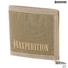 Maxpedition BFWTAN AGR Advanced Gear Research BFW Bi-Fold Wallet, Tan