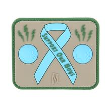 Maxpedition BLUBA PVC Blue Balls Awareness Patch, Arid