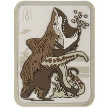 Maxpedition BSHKA PVC Bear Sharktopus Patch, Arid