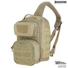 Maxpedition EDPTAN Advanced Gear Research AGR Edgepeak Ambidextrous Sling Pack, Tan