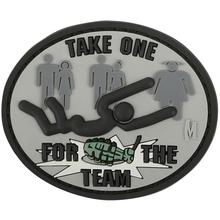 Maxpedition FORTS PVC Take One for the Team Patch, SWAT