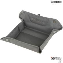 Maxpedition FTVGRY AGR Advanced Gear Research FTV Folding Travel Valet Tray, Gray