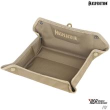 Maxpedition FTVTAN AGR Advanced Gear Research FTV Folding Travel Valet Tray, Tan
