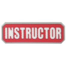 Maxpedition INSTR PVC Instructor Patch, Red