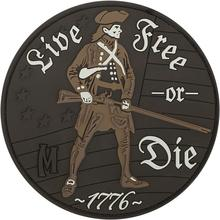 Maxpedition LFODA  PVC Live Free or Die Patch, Arid