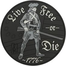 Maxpedition LFODS  PVC Live Free or Die Patch, SWAT