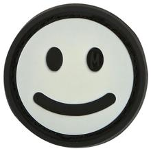 Maxpedition MHAPZ PVC Mini Happy Face Patch, Glow