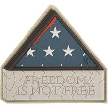 Maxpedition PVC Freedom is Not Free Patch, Arid