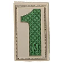 Maxpedition PVC Number 1 Patch, Arid