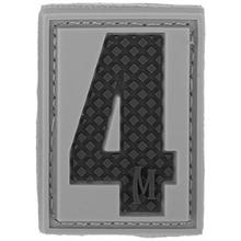Maxpedition PVC Number 4 Patch, SWAT