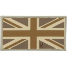 Maxpedition PVC United Kingdom Flag Patch, Arid