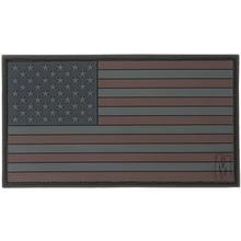 Maxpedition PVC Large USA Flag Patch, Stealth