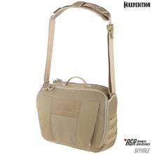 Maxpedition SKYTAN AGR Advanced Gear Research Skyvale 16L Tech Messenger Bag, Tan