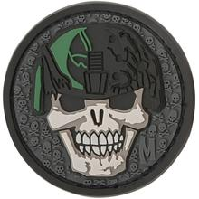 Maxpedition SLDKS PVC Soldier Skull Patch, SWAT