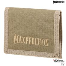 Maxpedition TFWTAN AGR Advanced Gear Research TFW Tri-Fold Wallet, Tan