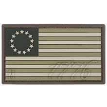 Maxpedition US76A PVC 1776 US Flag Patch, Arid