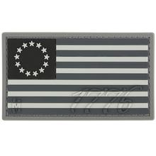 Maxpedition US76S PVC 1776 US Flag Patch, SWAT
