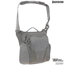 Maxpedition VLDGRY AGR Advanced Gear Research Veldspar 8L Crossbody Shoulder Bag, Gray