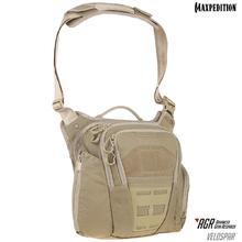 Maxpedition VLDTAN AGR Advanced Gear Research Veldspar 8L Crossbody Shoulder Bag, Tan