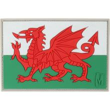 Maxpedition WALEC PVC Welsh Flag Patch, Color