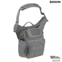 Maxpedition WLFGRY AGR Advanced Gear Research Wolfspur Crossbody Shoulder Bag, Gray