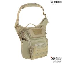 Maxpedition WLFTAN AGR Advanced Gear Research Wolfspur Crossbody Shoulder Bag, Tan