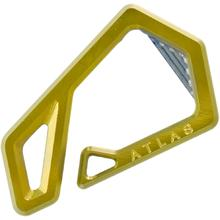 Jason Tietz Custom Atlas Key Hook, Gold Titanium, 2.46 inch Overall
