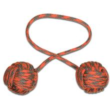 Monkey Fist Begleri KnifeCenter Exclusive 5 inch Orange/Gray Paracord