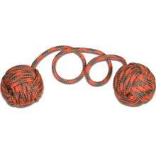 Monkey Fist Begleri KnifeCenter Exclusive 6 inch Orange/Gray Paracord
