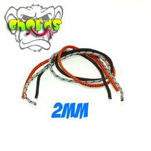 MonkeyfingeR Design 2 mm MonkeyCHORDS - Gray, Orange, Black
