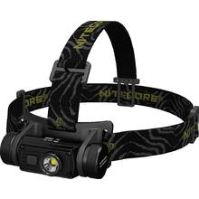 NITECORE HC60 Rechargeable 18650 LED Headlamp, Black, 1000 Max Lumens