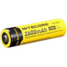 NITECORE NL1826 18650 Rechargeable Lithium Battery, 2600mAh
