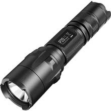 NITECORE Precise P20 Strobe Ready CR123 LED Flashlight, Black, 800 Max Lumens